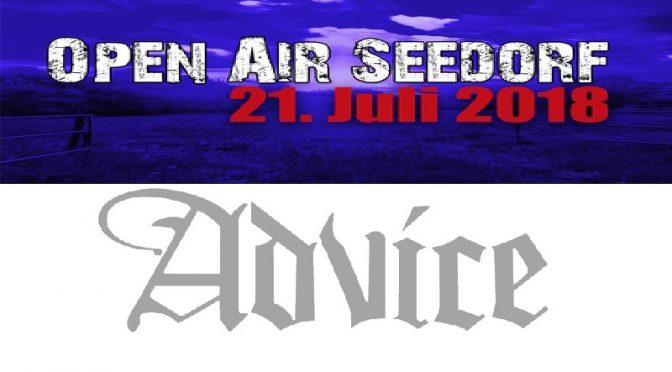 Die sechste Band 2018: ADVICE aus Lüneburg